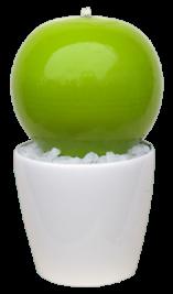 Kugel grün